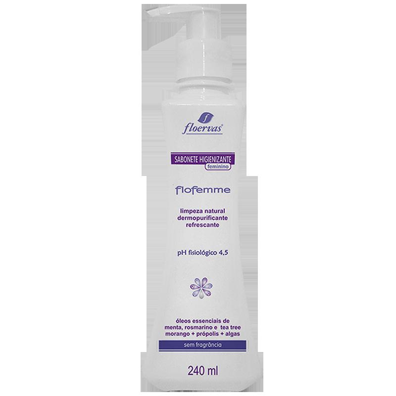 Cód. 650 - Sabonete Higienizante Feminino - Sem Fragrância - 240 ml