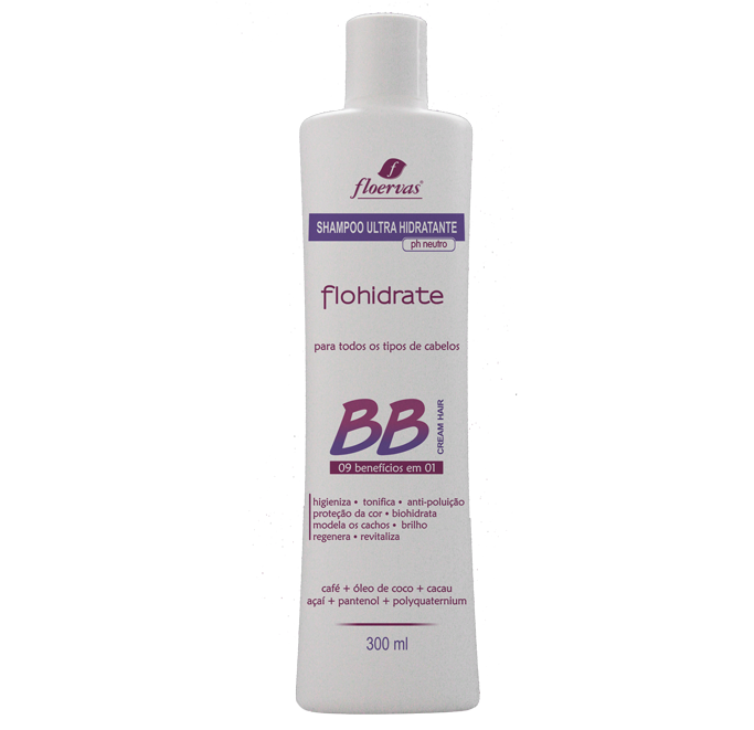 Cód. 504 - Shampoo Ultra Hidratante  BB Cream - 300 ml