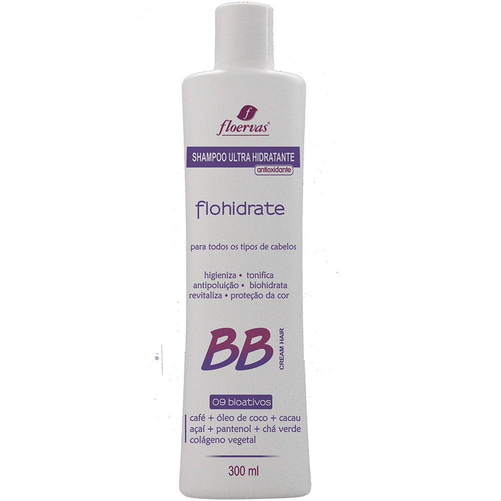 Cód. 504 - Shampoo Ultra Hidratante  Antioxidante BB Cream - 300 ml