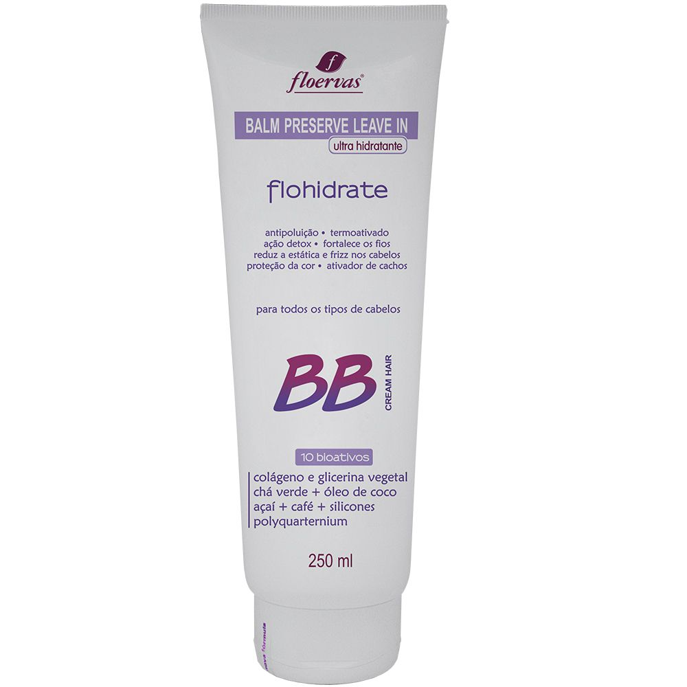 Cód. 510 - Balm Preserve Leave in  BB Cream - 250 ml