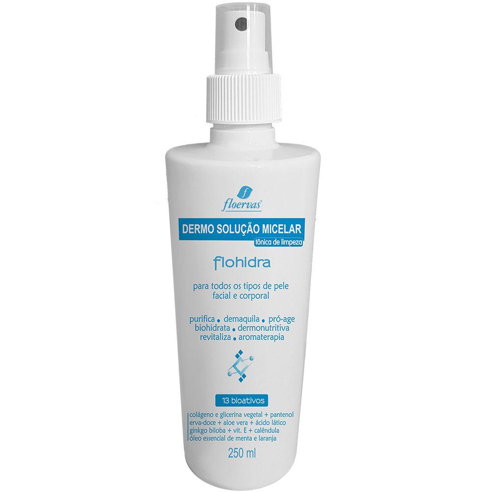 Cód. 624 - Dermo Solução Micelar  - tônica de limpeza- 250 ml