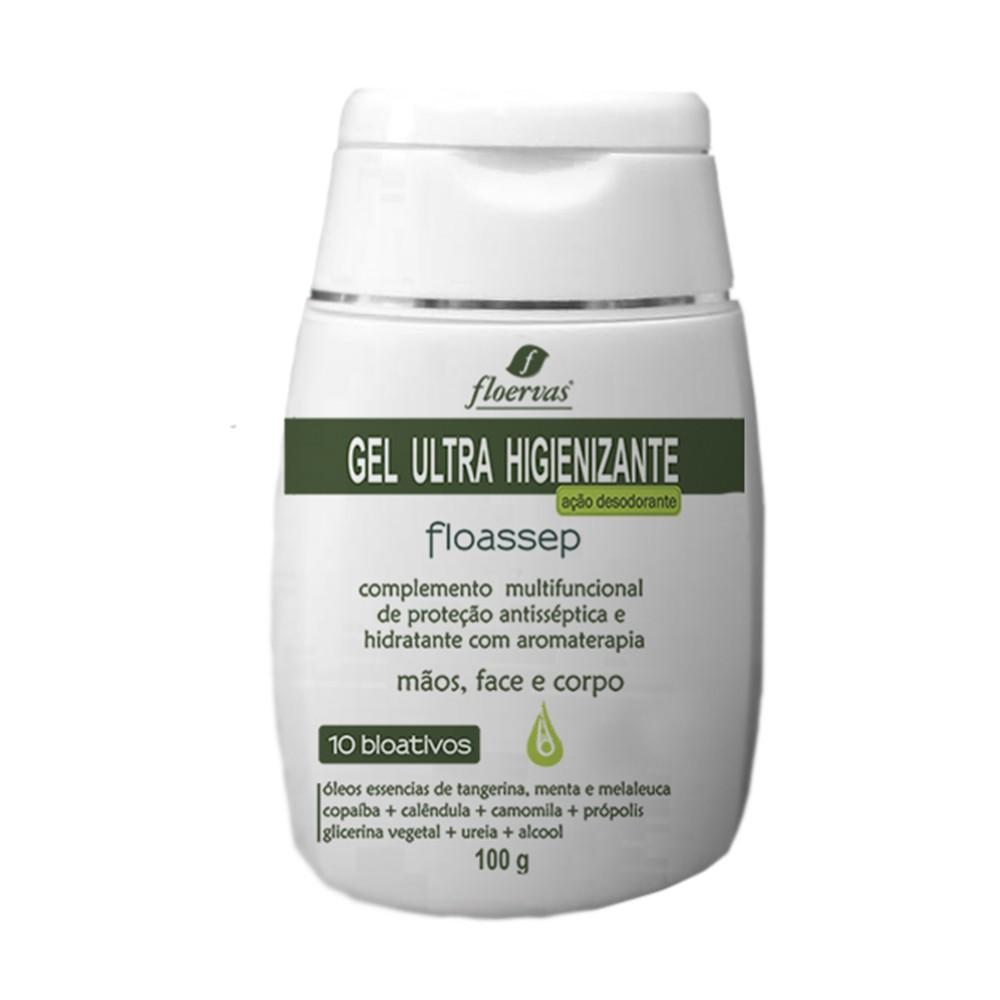 Cód. 635B - Gel Ultra Higienizante - ação desodorante  - 100 g