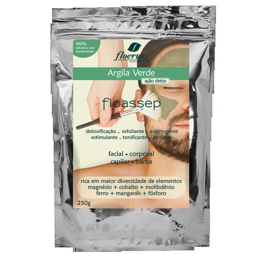 Cód. 636 - Argila Verde (Ação Detox) - 250g