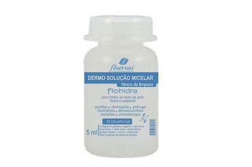 Cód. F624 - Dermo Solução Micelar  - tônica de limpeza- 5 ml