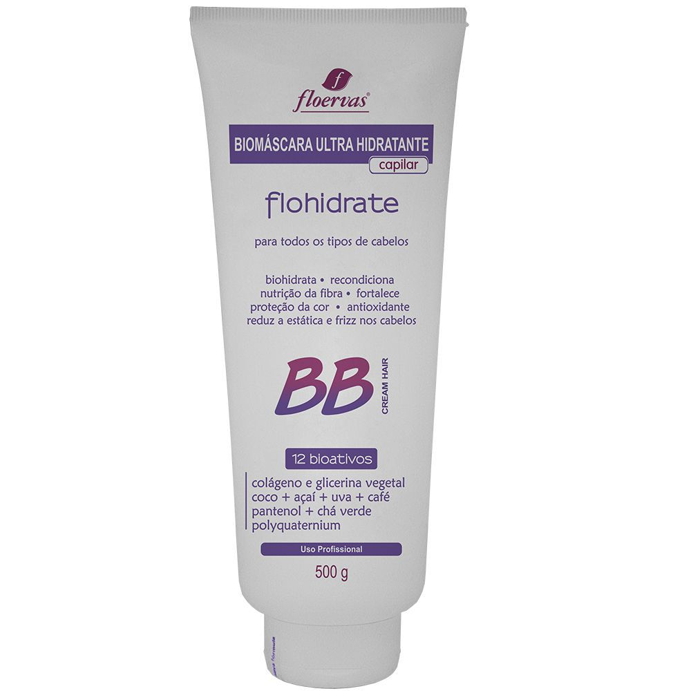 Cód. P302 - Biomáscara Ultra Hidratante BB Cream 12 em 1 - 500 ml