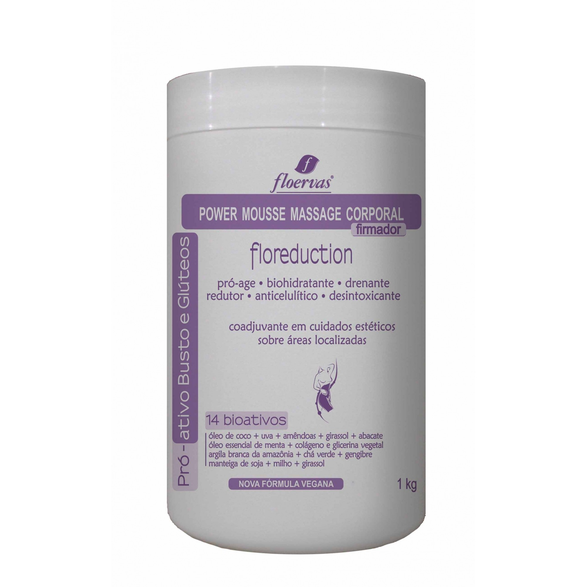 Cód. P780K - Power Mousse Massage - Firmador - 1kg