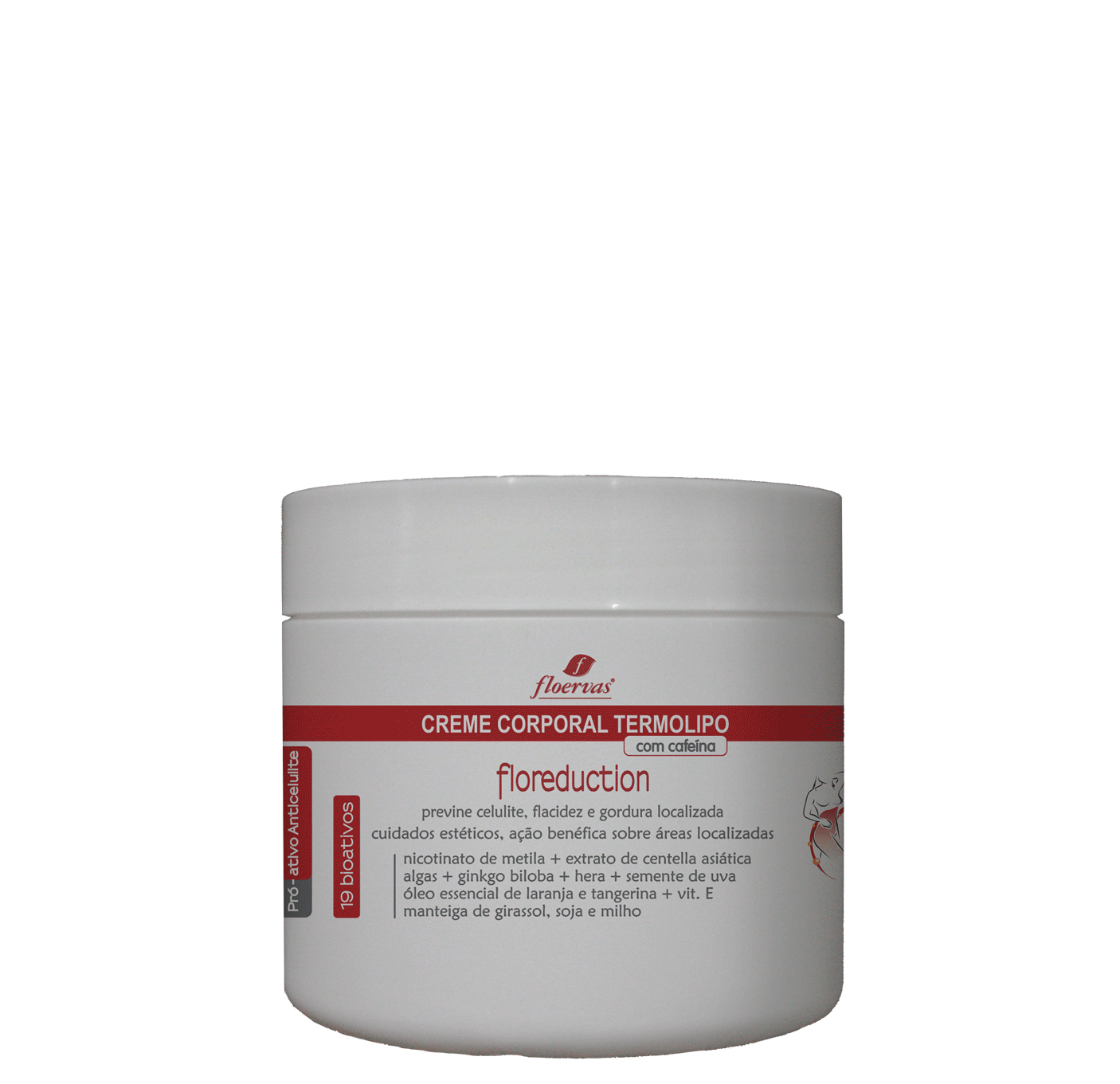 Cód. P800 - Creme Corporal TermoLipo - 500 ml