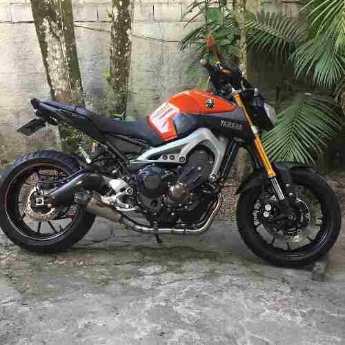 Ponteira Escape Sharck Gp920 Inox Full 3x1 - Yamaha Mt-09