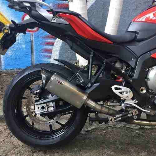 Ponteira Escape Full 4x2x1 Scorpion S725 Inox - Bmw S1000xr