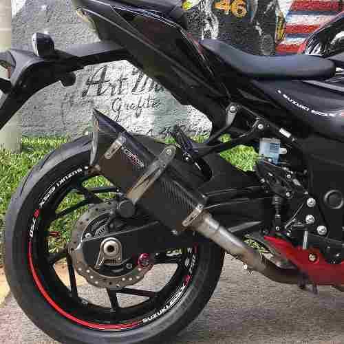 Ponteira Scorpion S720 Carbono - Suzuki Gsxs 750 Carbox