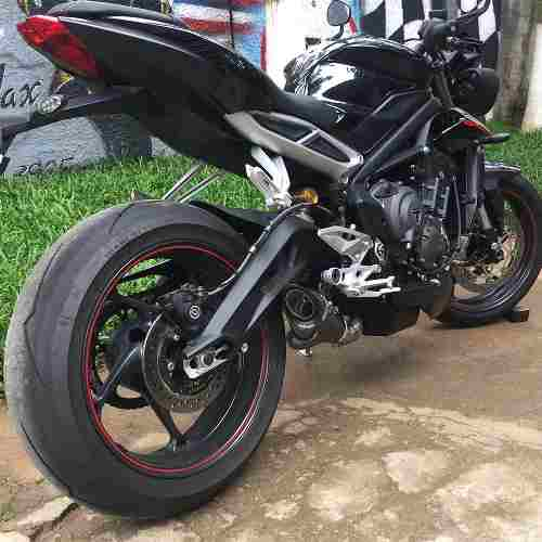 Ponteira Escape Scorpion Gp720 Carbon Street Triple 765 Rs/s