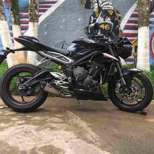 Ponteira Escape Scorpion Gp720 Inox Street Triple 765 Rs/s