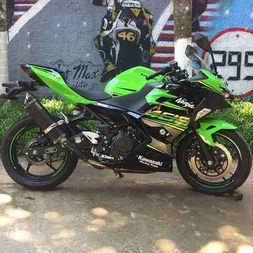 Ponteira Esportiva Scorpion S725 Carbon - Ninja 400