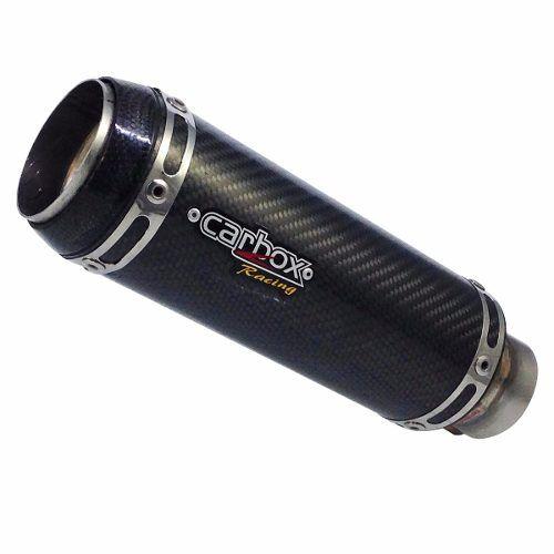 Ponteira Esportiva Gp Tech Carbon - Ninja 400