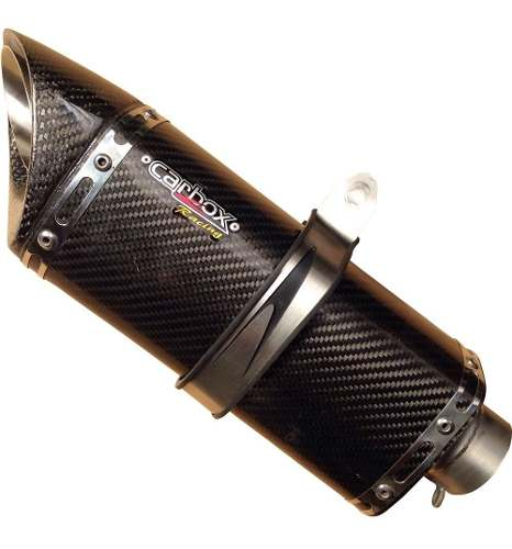 Ponteira Escape Scorpion S720 Carbono Full 2x1 - Yamaha R3