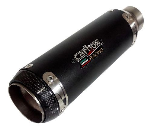 Ponteira Escapament Gp Tech Aluminium Black - Ktm Duke 390