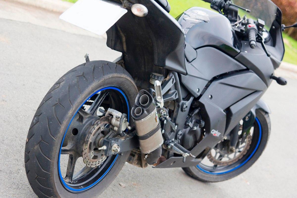 Ponteira Escapamento V8 825 P/ Ninja 250 / 250 R