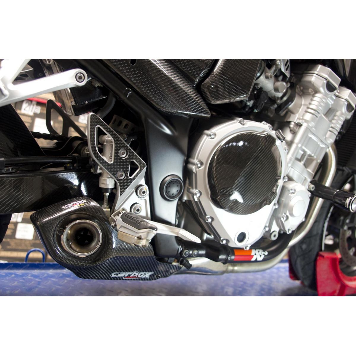 Ponteira Escape No Muffler Carbon - Bandit 650/1250