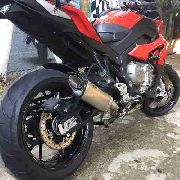 Ponteira Escape Full 4x2x1 Scorpion S725 Inox - Bmw S1000xr