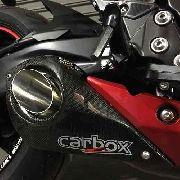 Ponteira Esportiva No Muffler Carbon - Suzuki Gsxs 750