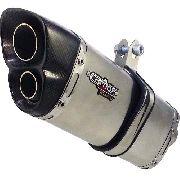 Ponteira Escapamento V8 Inox Full - Honda Crf 250 F