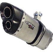 Ponteira Escape V8 Inox - Yamaha Lander