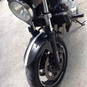 Paralama Dianteiro p/ Suzuki Bandit 650 / 1250 em Fibra de Carbono