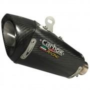 Escapamento H720 GP Carbon  Full 2x1 - Ninja 300 / Z300