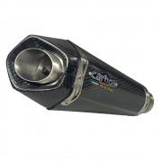 Escapamento Shark GP920 Carbon  Full 2x1 - Ninja 300 / Z300