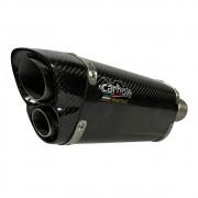 Escapamento V8 Carbon Full - Honda Tornado 250