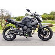 Ponteira Esportiva Shark Carbon S620 p/ Yamaha XJ6 Full 4x2x1 (ESPECIAL)