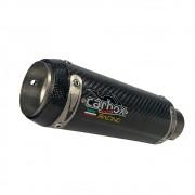 Ponteira Gp Tech Carbon - Zx6r + Abraçadeira em fibra de carbono