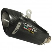 Ponteira H720 GP Carbono - Daytona 675 R + Simulador de Válvula
