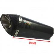 Ponteira H735 Carbon + Abraçadeira em Fibra de Carbono