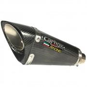 Ponteira Scorpion Gp720 Carbono - Ducati Scrumbler