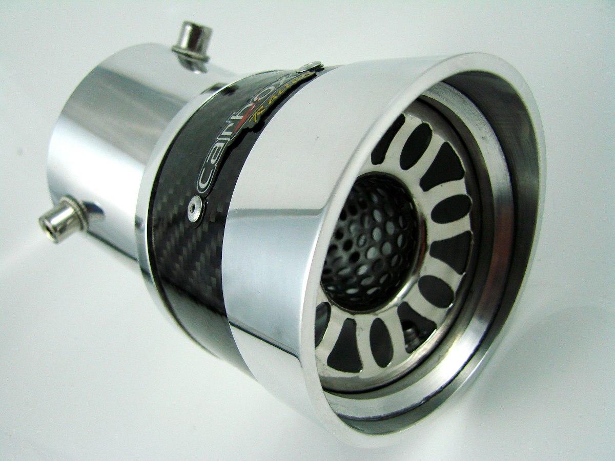 Ponteira Extreme Turbo Angular De Carbono Punto