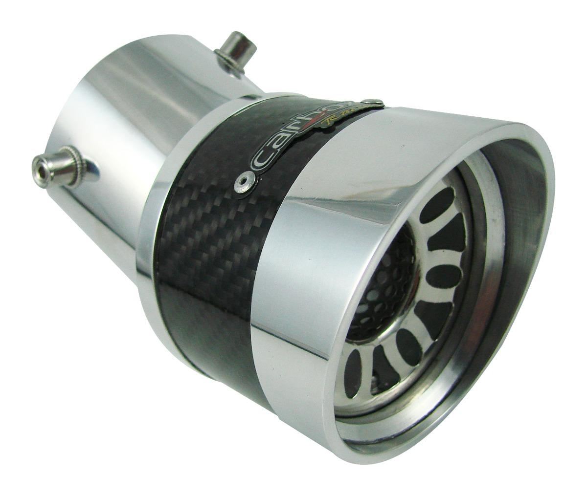 Ponteira Extreme Turbo Angular De Carbono Fit
