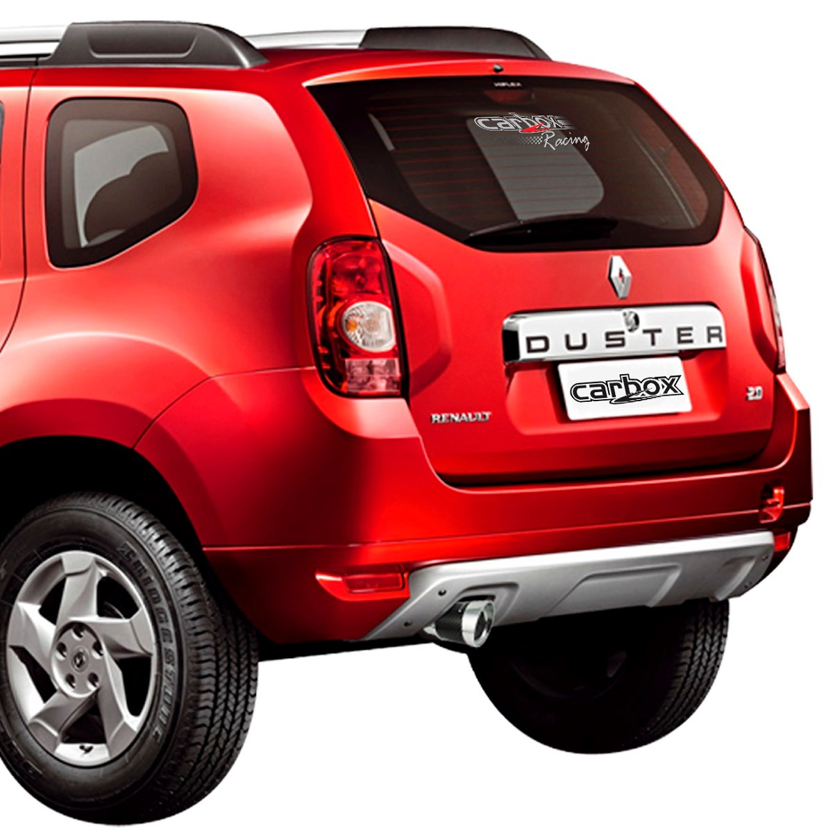 Ponteira Elite C/ Fibra De Carbono P/ Renault Duster