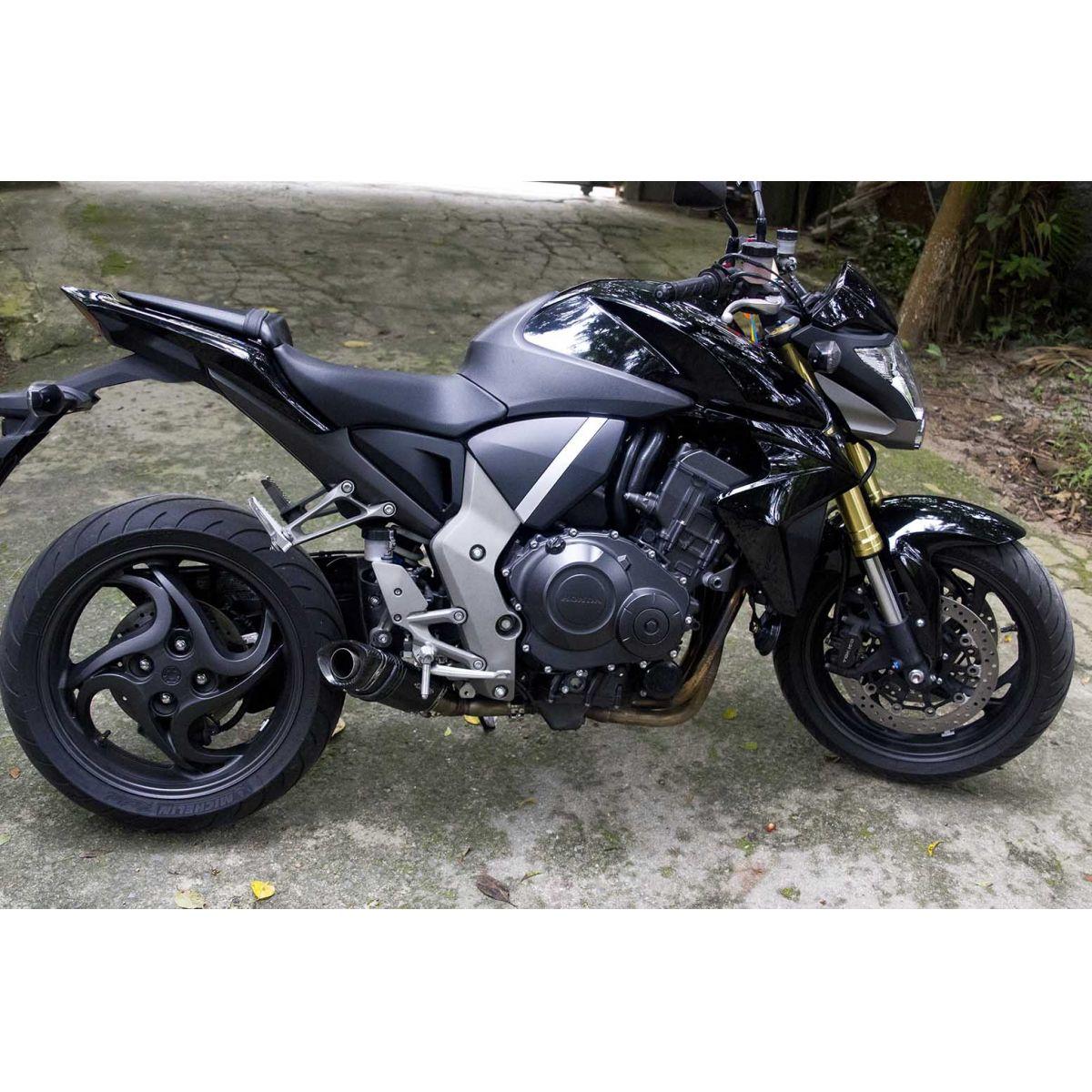 Ponteira Escapamento Shark Carbon Honda CB1000 R