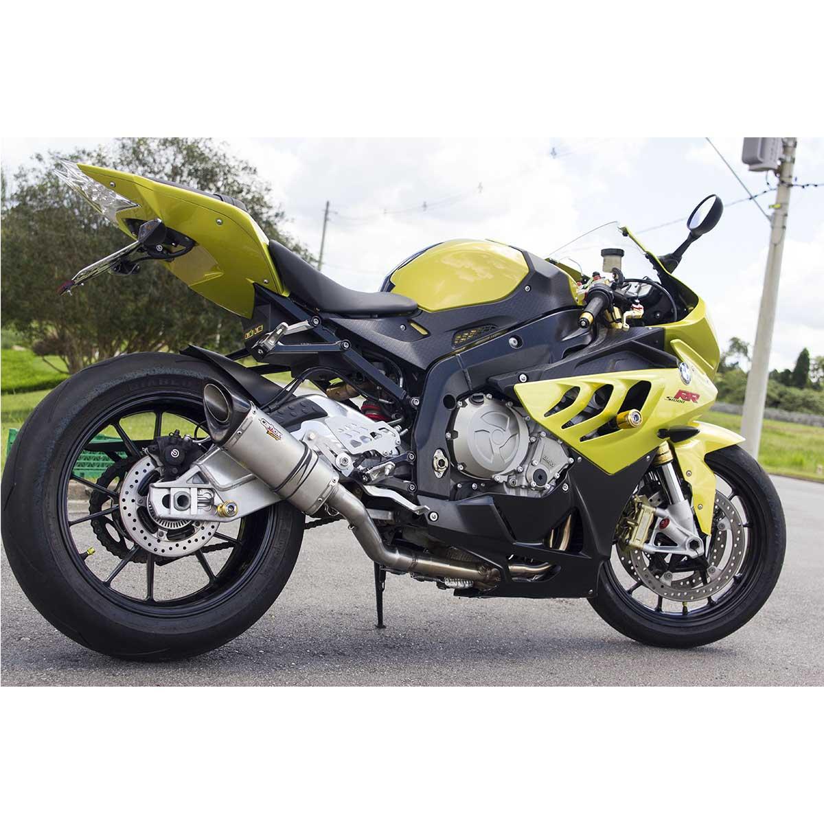 Escapamento Full 4x2x1 Scorpion S725 Inox p/ BMW S1000RR até 2015