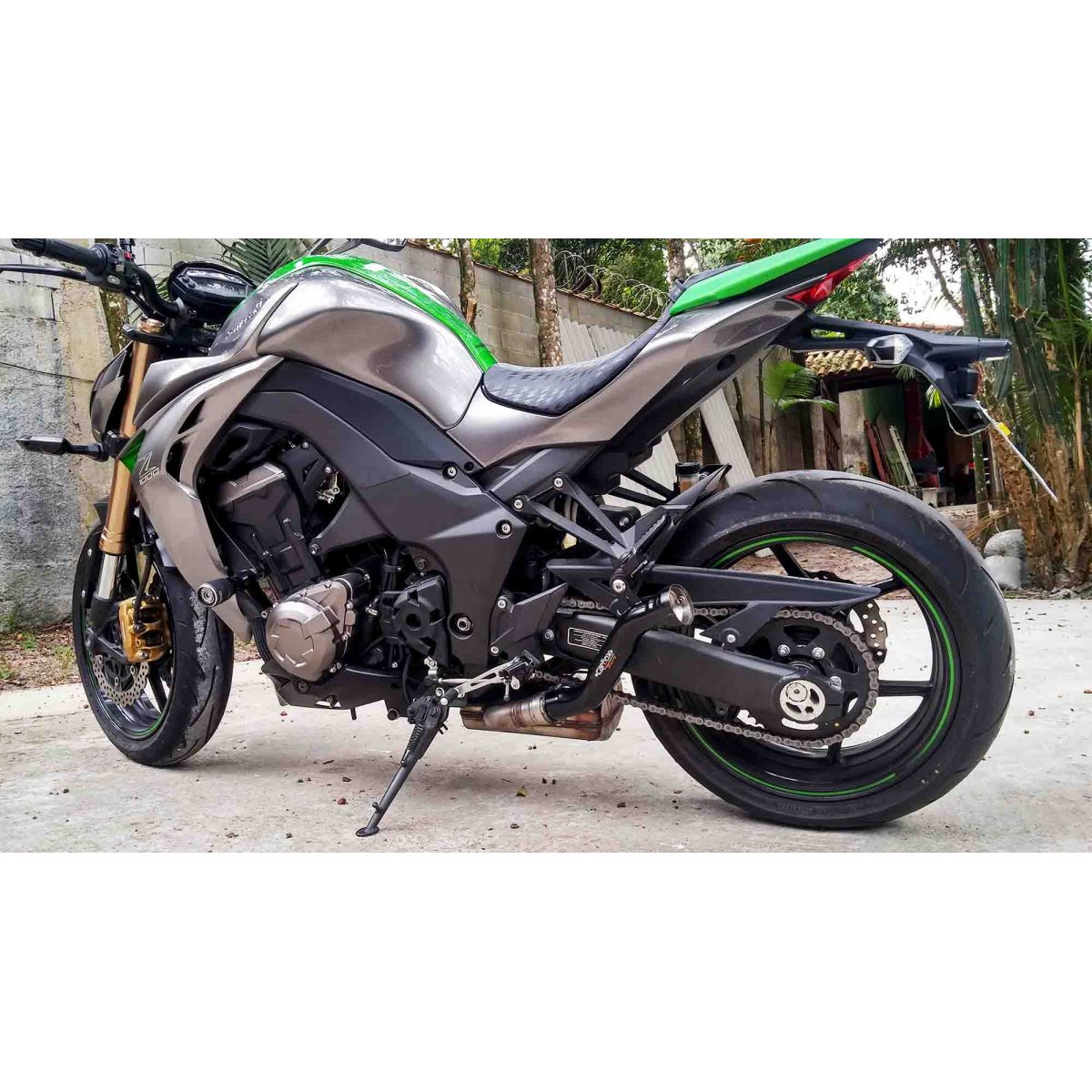 Ponteira Dupla Pipe S Black Edition Kawasaki Z1000 10 A 15