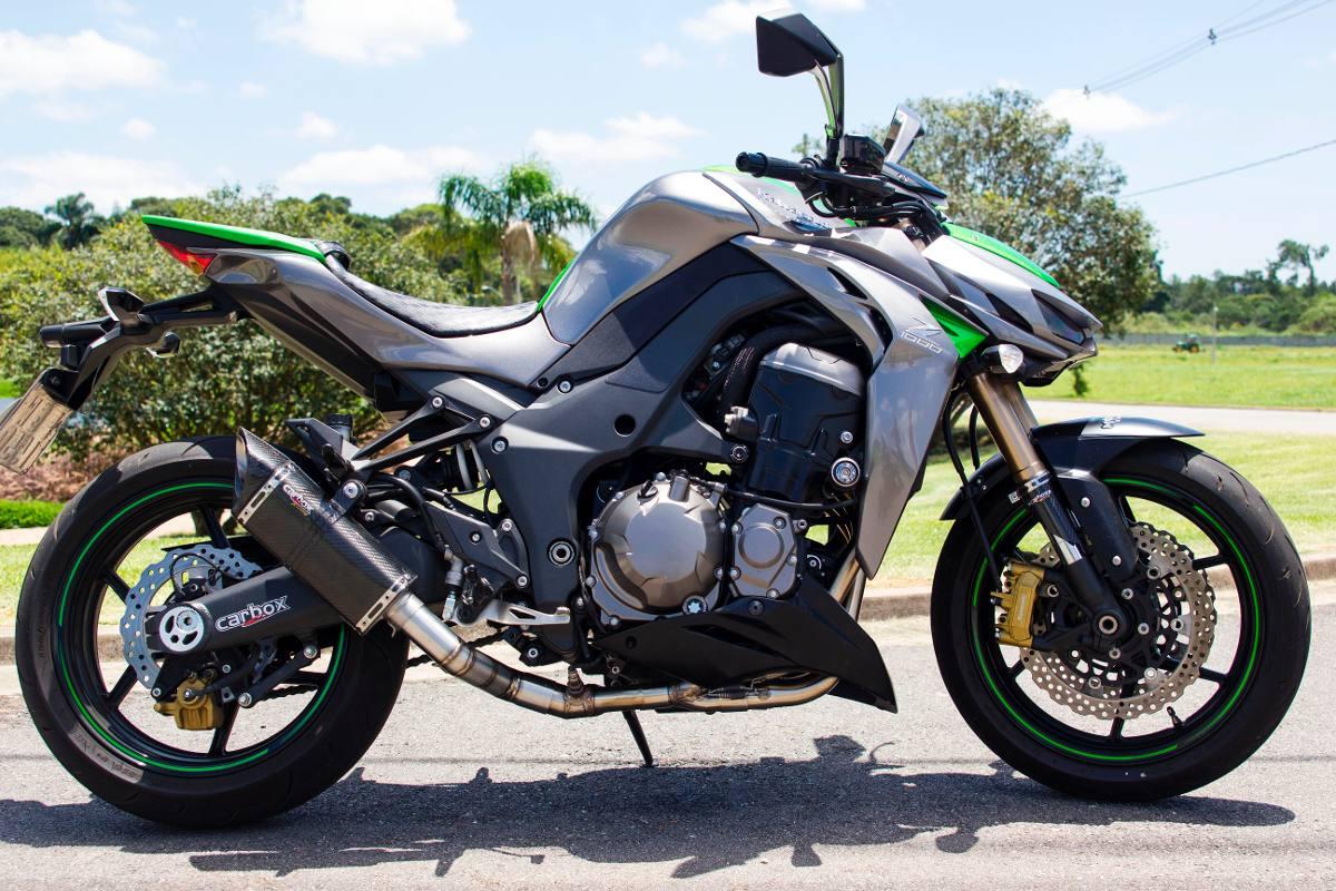 Escapamento Full 4x2x1 Scorpion S720 Carbon Z1000 10 A 15