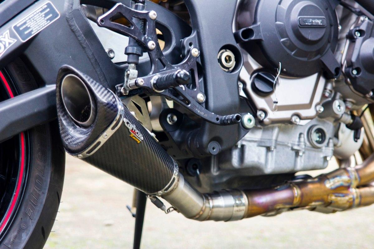 Ponteira Escapamento Scorpion GP720 Carbon p/ ZX10R 2011 a 2015