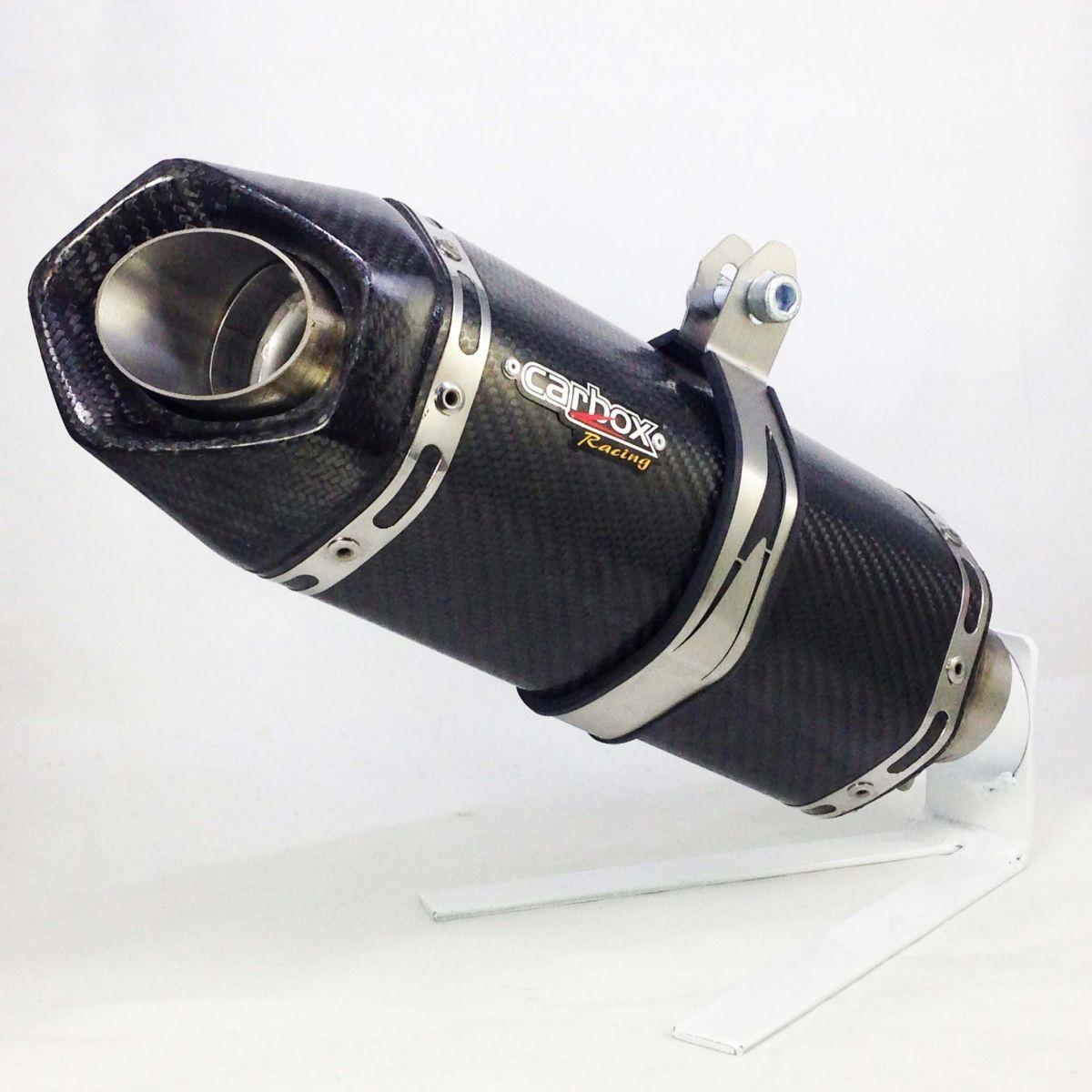 Ponteira Escape Full 4x2x1 Shark S920 Carbono Cbr 600f 12 A 14