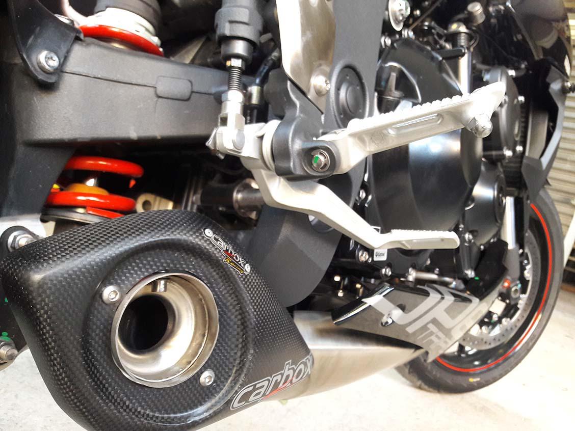 Ponteira Escapamento No Muffler Triumph Speed Triple 1050