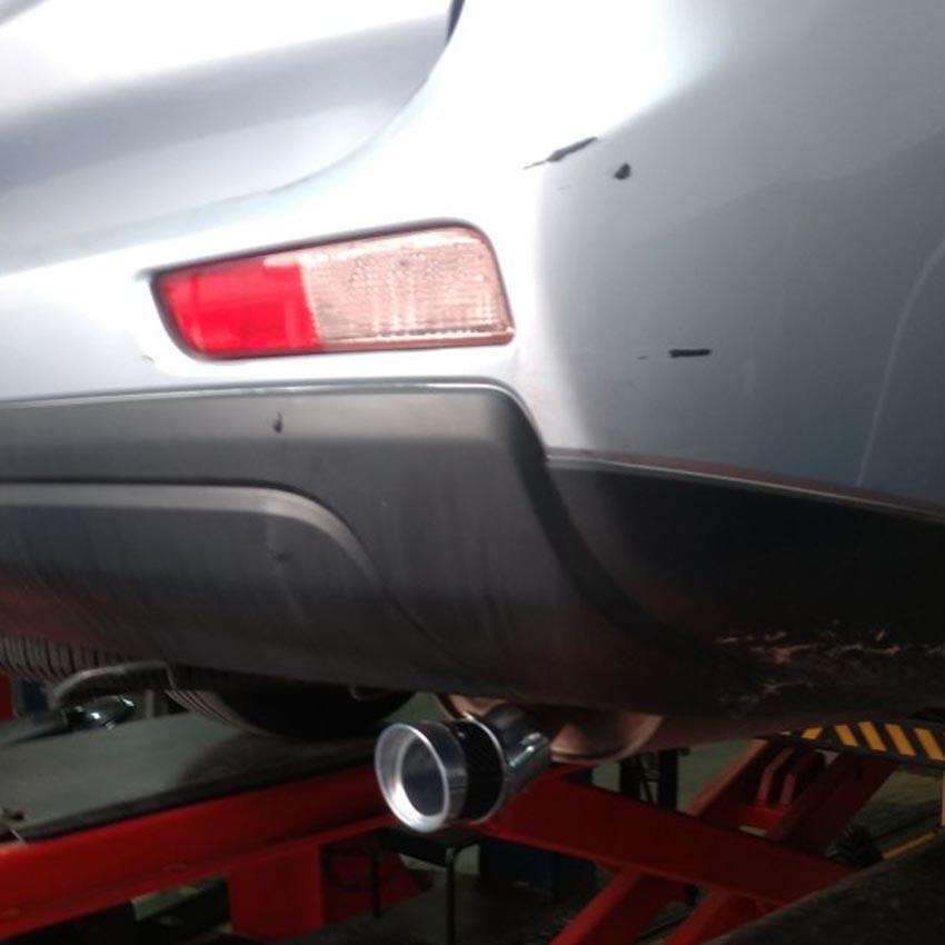 Ponteira Angular Elite Carbono Mitsubishi Outlander 2014