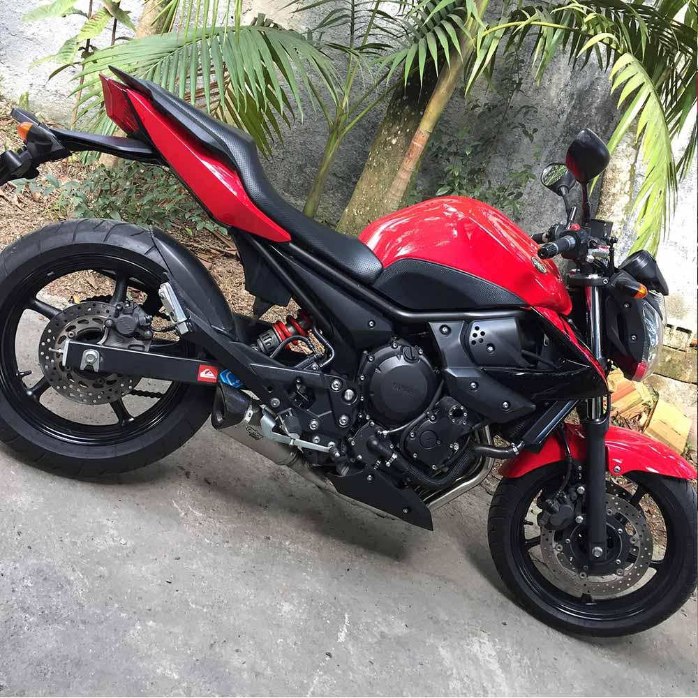 Escapamento Full 4x2x1 Scorpion Gp720 Inox P/ Yamaha Xj6