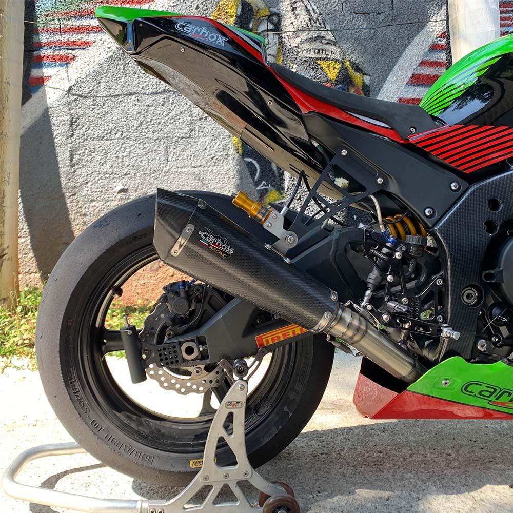 Escapamento F632 Carbon Full Race 4x2x1 - Zx10r 2020