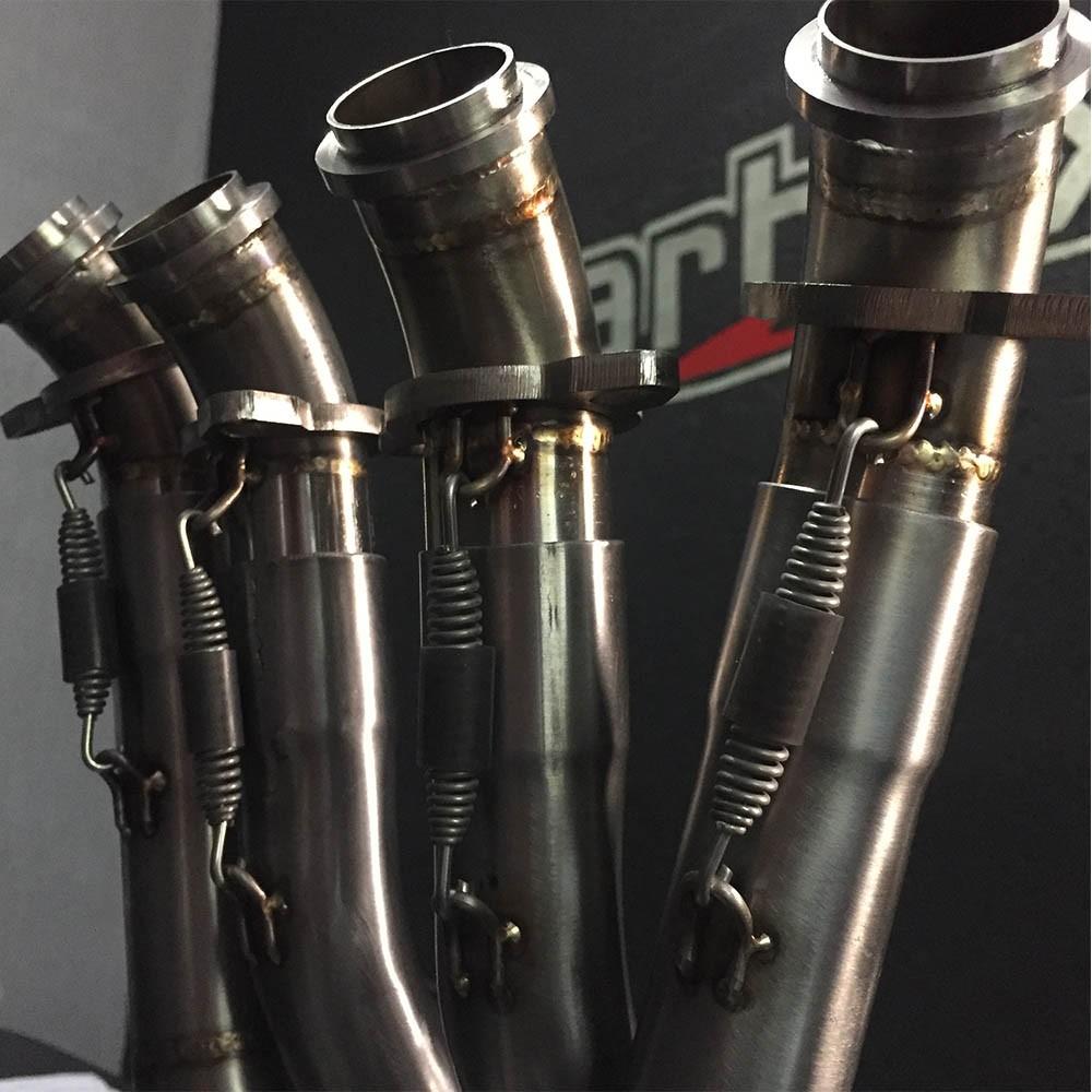 Escapamento H620 Gp Carbon Full Race 4x2x1 - Zx6r