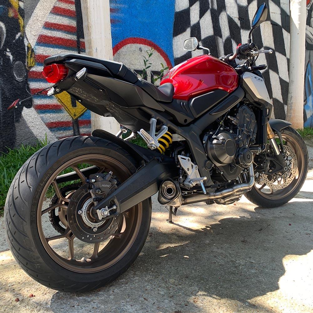 Escapamento Scorpion GP720 Carbon Full 4x2x1 - CB650R